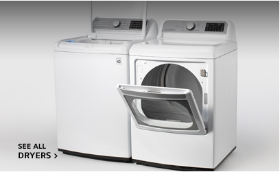 lg appliances laundry dryers